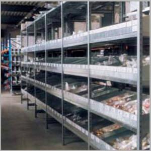 rayonnage tôlés casiers de séparation