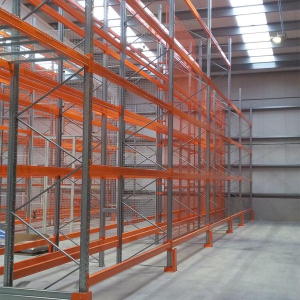 rayonnage à palettes pour industrie et entrepôts