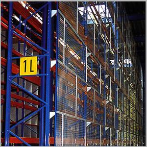 grillage sécurité pour stockage accumulation