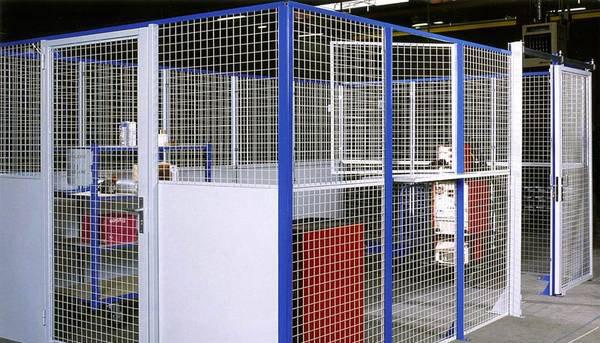 cloisons de sécurité pour usines et ateliers AED