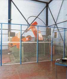 cloisons AED pour ateliers et entrepôts