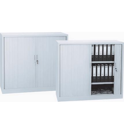armoire métallique à rideaux