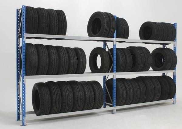 rayonnages semi lourds pneus