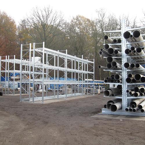 Rayonnages pour matériaux de construction