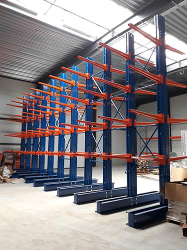 cantilever super lourd pour stockage industriel