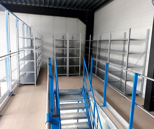 plateforme mezzanine pour stockage aed belgique