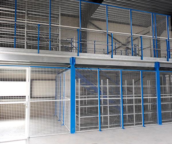 mezzanine stockage en hauteur