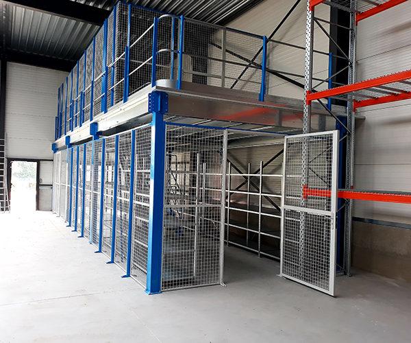 plateforme de stockage pour entrepôts